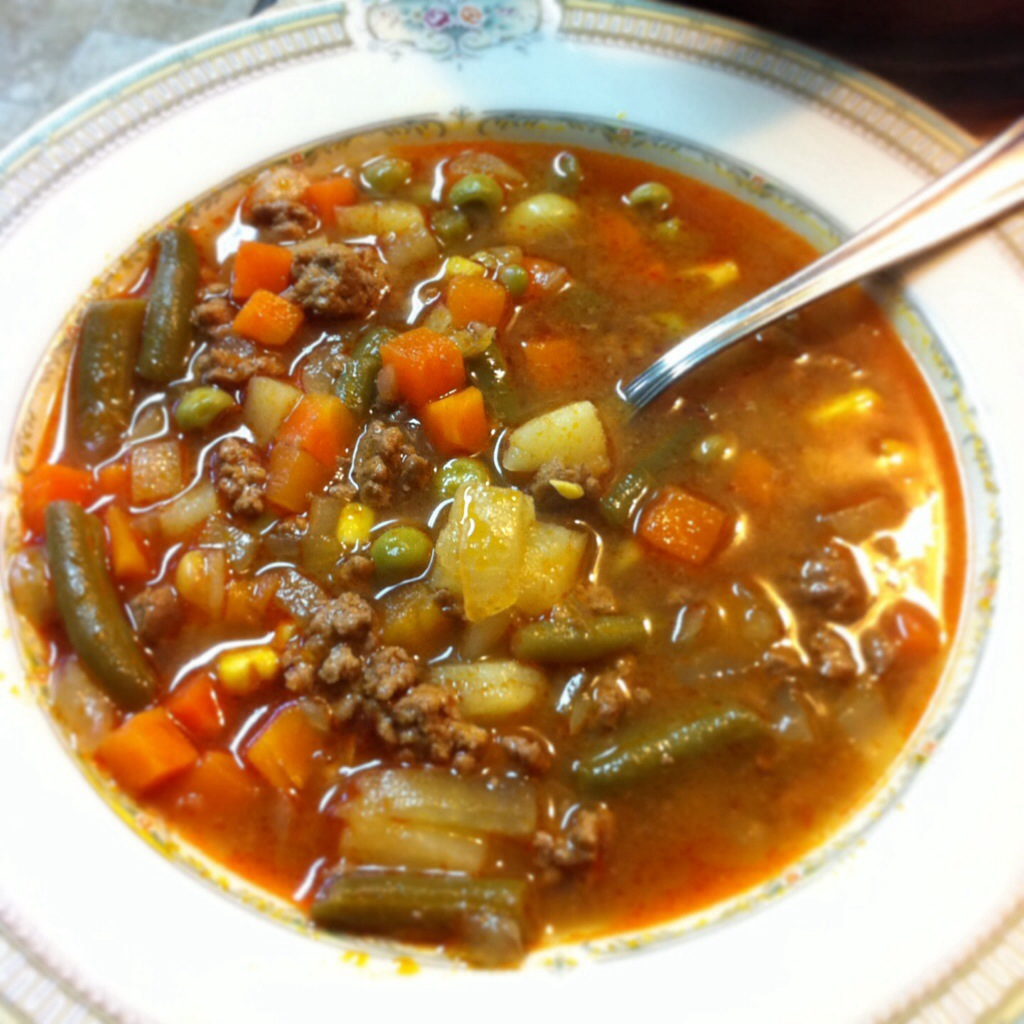 Quick and Easy Beef Vegetable Soup
